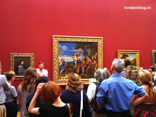 The National Gallery Museum in Londen